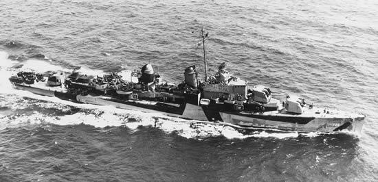 アレン・M・サムナー級駆逐艦 メレディス