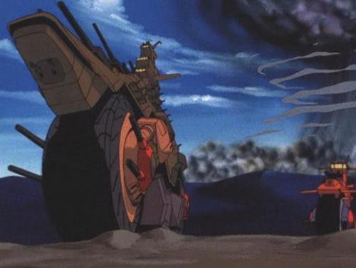 機動戦士Vガンダム ザンスカール帝国 バイク戦艦 アドラステア 地球クリーン作戦