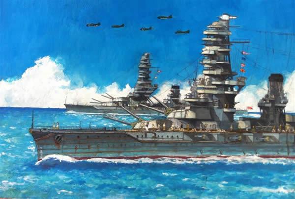 イラスト 戦艦 扶桑 山城