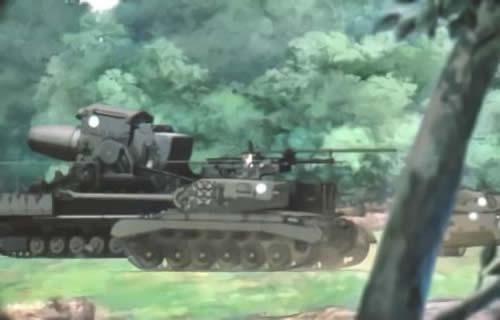 ガールズ&パンツァー 劇場版 カール自走臼砲 パーシング