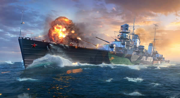 WoWS ソ連 Tier6 課金巡洋艦 モロトフ