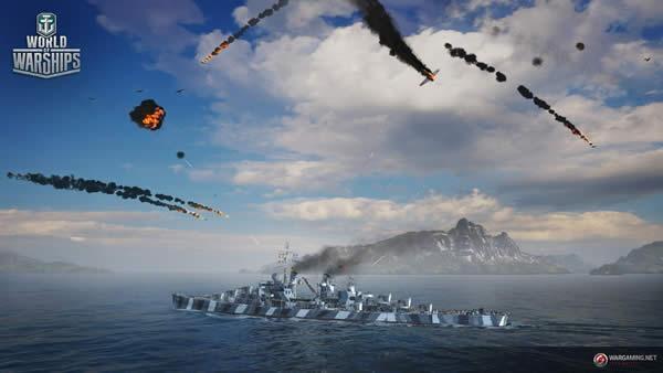 WoWS 対空兵装の手動制御