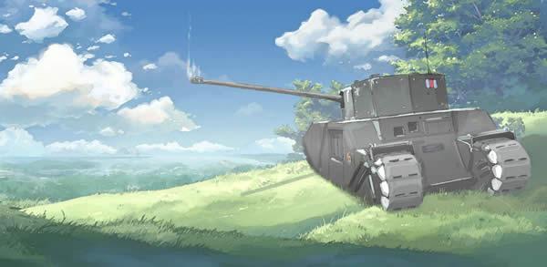 イギリス 重戦車 TOGⅡ イラスト