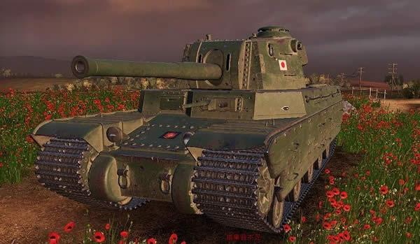 WoT 日本 Tier9 4式重戦車 お花畑