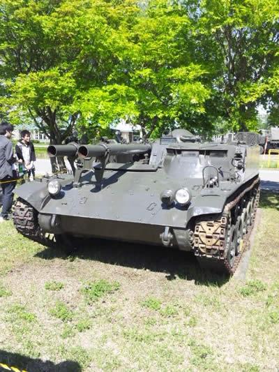 陸上自衛隊 60式無反動砲