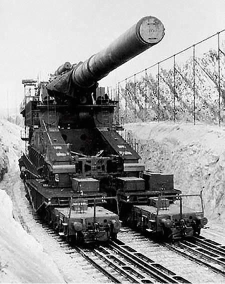 80cm列車砲 ドーラ