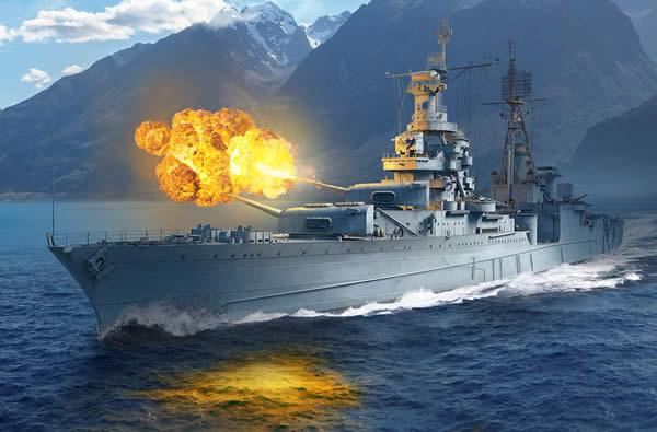 WoWS アメリカ Tier7 課金巡洋艦 インディアナポリス