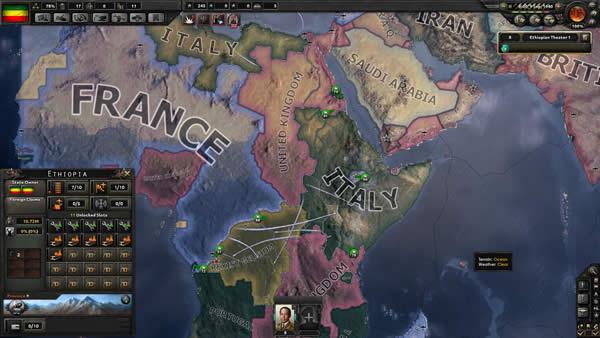 HoI4 イタリア アフリカ蹂躙