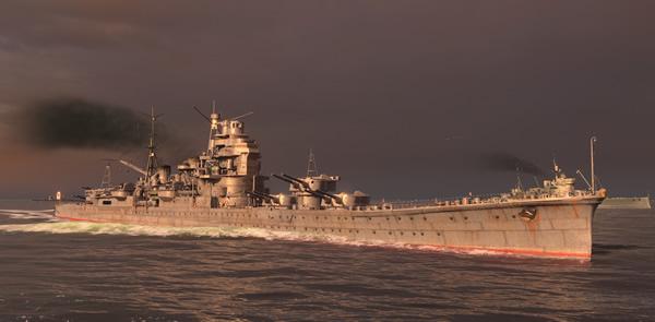 WoWS Tier7 巡洋艦 妙高 日本