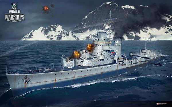 WoWS アメリカ Tier7 課金駆逐艦 シムス