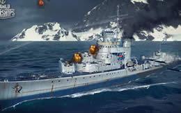 WoWS アメリカ Tier7 課金駆逐艦 シムス サムネイル