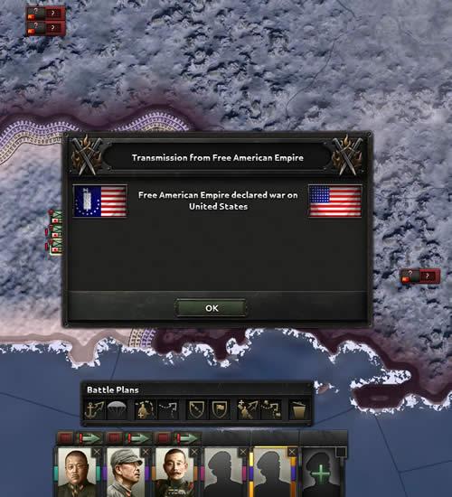 HoI4 アメリカ帝国