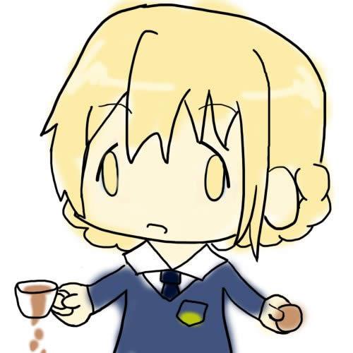 ガールズ&パンツァー ダージリン FXで有り金全部溶かした人の顔 紅茶をこぼす