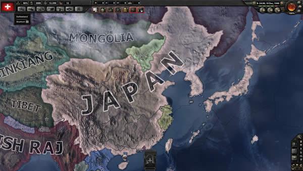 HoI4  日本 中国大陸 占領