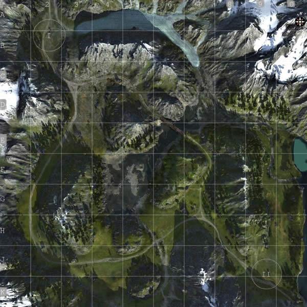 WoT マップ 山岳路