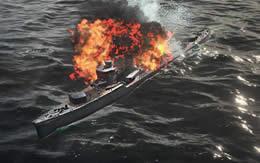 WoWS 駆逐艦 爆発 被弾 サムネイル