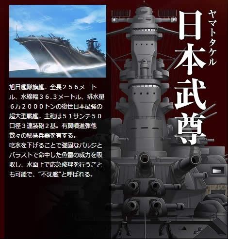 旭日の艦隊 日本武尊 やまとたける