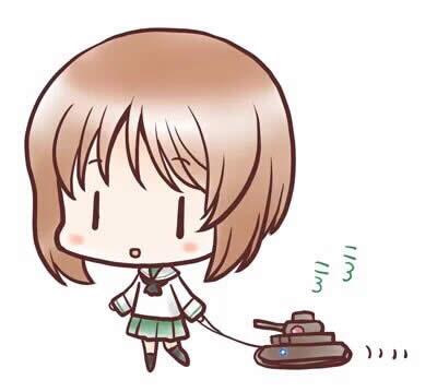 ガールズ&パンツァー 漫画 西住みほ よんごう 02
