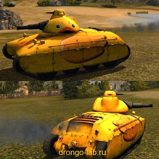 WoT AMX40 アヒルMOD