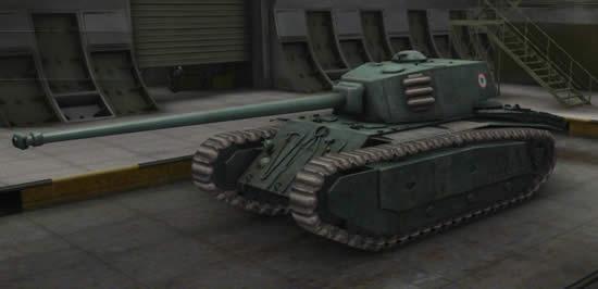 WoT ARL 44 フランス Tier6 重戦車