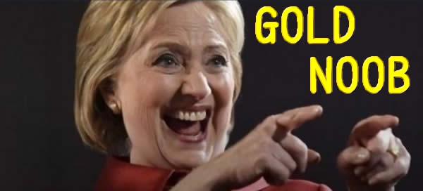 ヒラリー・クリントン GOLD NOOB lol WoT