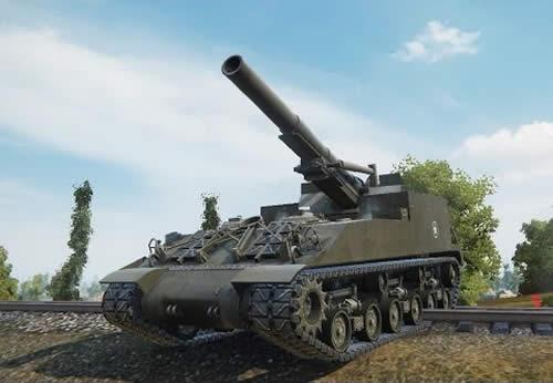 WoT M40/M43 Tier8 アメリカ 自走砲