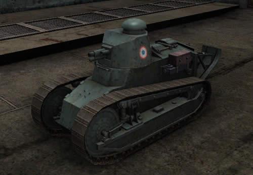 WoT ルノーFT Tier1 軽戦車