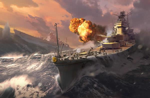 WoWS 砲撃 日本巡洋艦