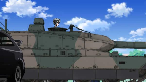 ガールズ&パンツァー 蝶野亜美 10式戦車
