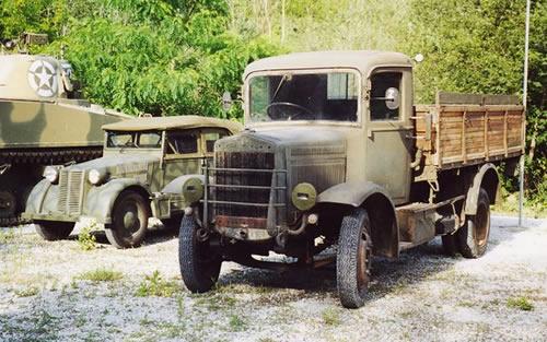 フィアット SPA-38R イタリア 汎用トラック