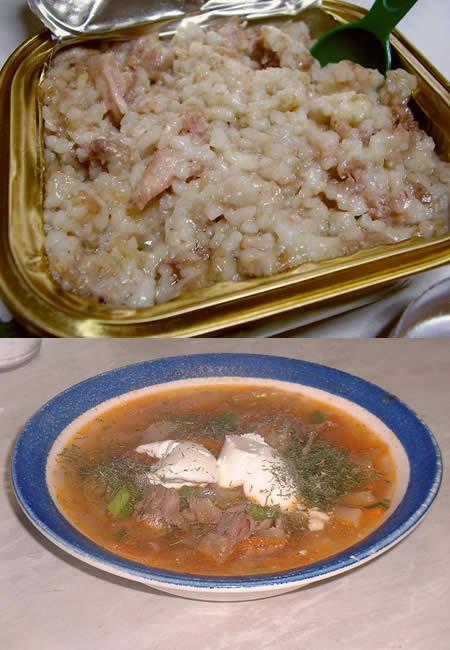 ロシア料理 カーシャとシチー