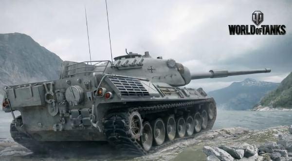 WoT レオパルト1 ドイツ Tier10 中戦車