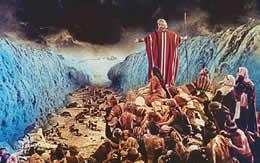 モーゼ 海割れる サムネイル