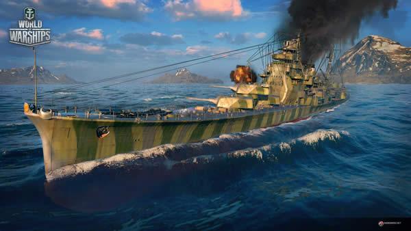 WoWS 愛宕 Tier8 課金巡洋艦 迷彩