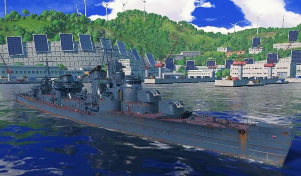 WoWS ハバロフスク  ソ連 Tier10 駆逐艦