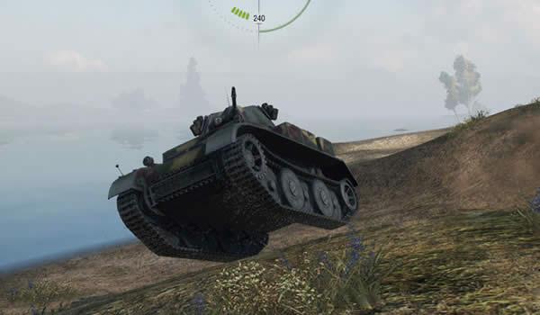 WoT ルクス Tier4 ドイツ 軽戦車 飛ぶ