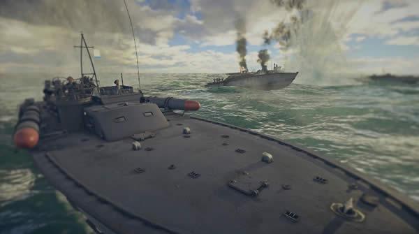 WarThunder 魚雷艇 PTボート