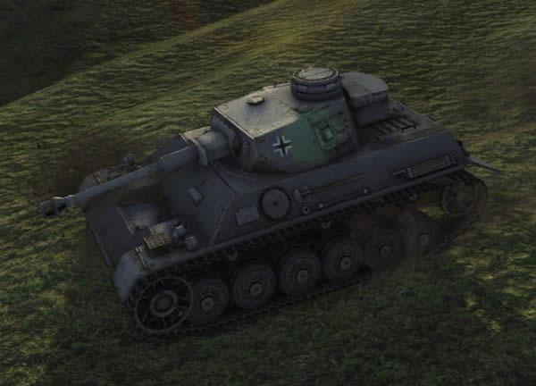 WoT III/IV号戦車 ドイツ Tier5 中戦車