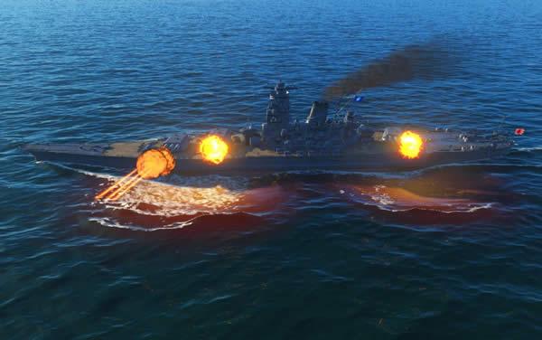WoWS 大和 日本 Tier10 戦艦 砲撃