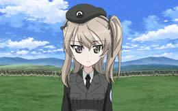 【ガルパン】島田愛里寿ちゃん(13)の考える最高にカッコいいポーズ