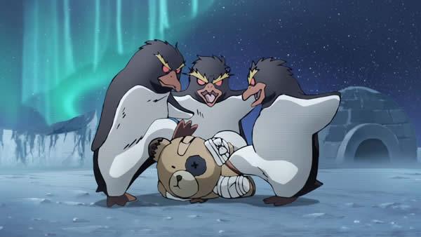 ガールズ&パンツァー 愛里寿ウォー ボコ ペンギンにボコられる