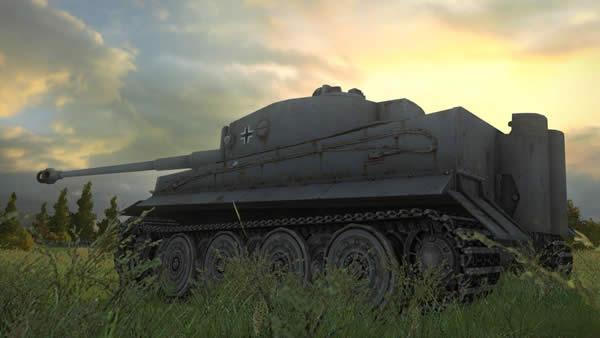 WoT タイガーⅠ ドイツ Tier7 重戦車