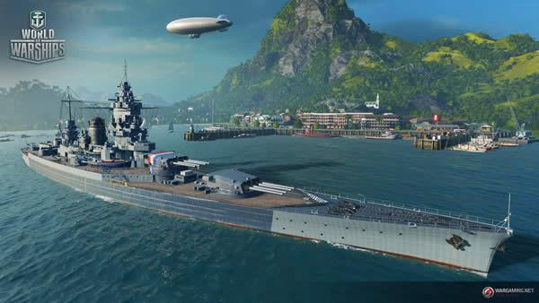 WoWS ダンケルク フランス Tier6 課金戦艦