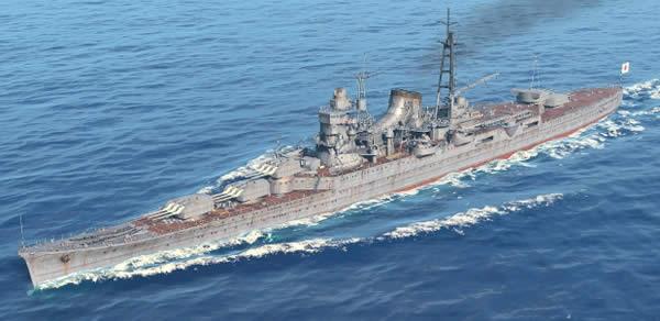 WoWS 最上 日本 Tier8 巡洋艦