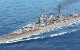 WoWS 最上 日本 Tier8 巡洋艦 サムネイル