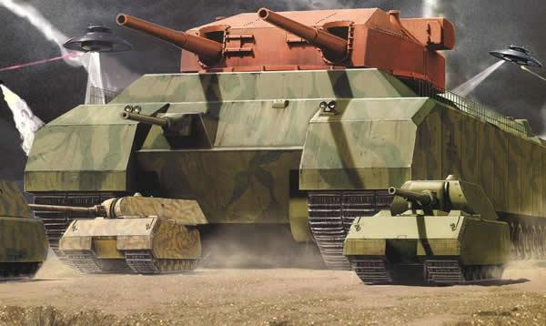 戦車 プラモ P1000 Ratte ラーテ