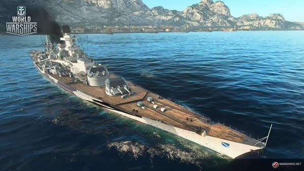 WoWS シャルンホルスト ドイツ Tier7 課金戦艦