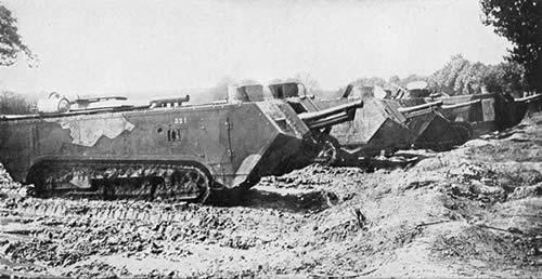 サン・シャモン突撃戦車 フランス 第一次世界大戦