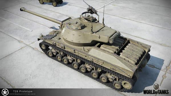WoT T28 プロトタイプ アメリカ Tier8 駆逐戦車
