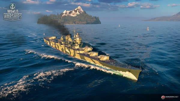 WoWS 日本 Tier8 巡洋艦 最上 迷彩